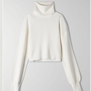 Aritzia Rebecca Sweater IN GREY NOT WHITE